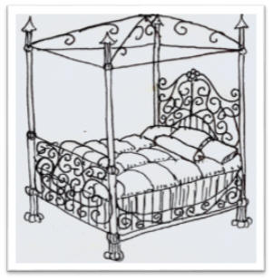 Bed From Paris